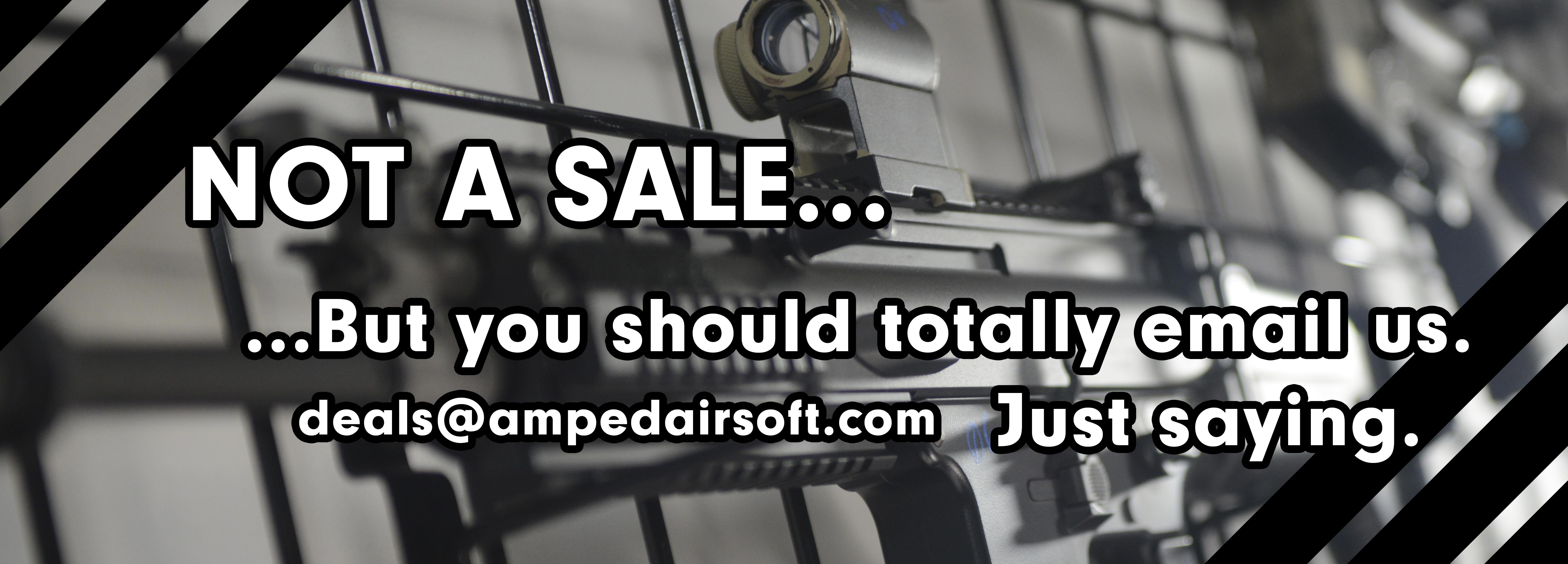 Not A Sale, you should totally email us!