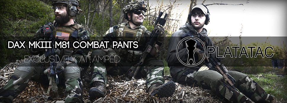 Platatac DAX MKIII M81 Combat Pants Amped Exclusive
