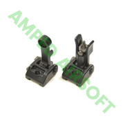 PTS - Griffin Armament Modular Back Up Iron Sight Set (Black)