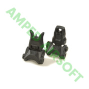 PTS - Enahnced Polymer Back Up Iron Sight Set (Front/Rear/Black)