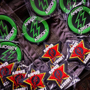 Amped Custom - Amped Airsoft Red Star Logo Patch (PVC)