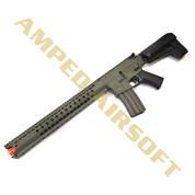 Amped Custom HPA Rifle - Krytac War Sport LVOA-C (Foliage Green)  Left