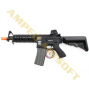 Amped Custom HPA Rifle - G&G Combat Machine CM16 Raider Short (Black)