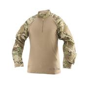 Tru-Spec - 1/4 Zip Tactical Response Combat Shirt (Poly-Cotton) (Multicam)