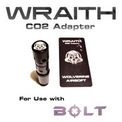 Wolverine Airsoft - WRAITH CO2 Adapter for use with BOLT