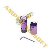 Amped Custom HPA Rig - STORM OnTank (Purple) with Tournament Lock