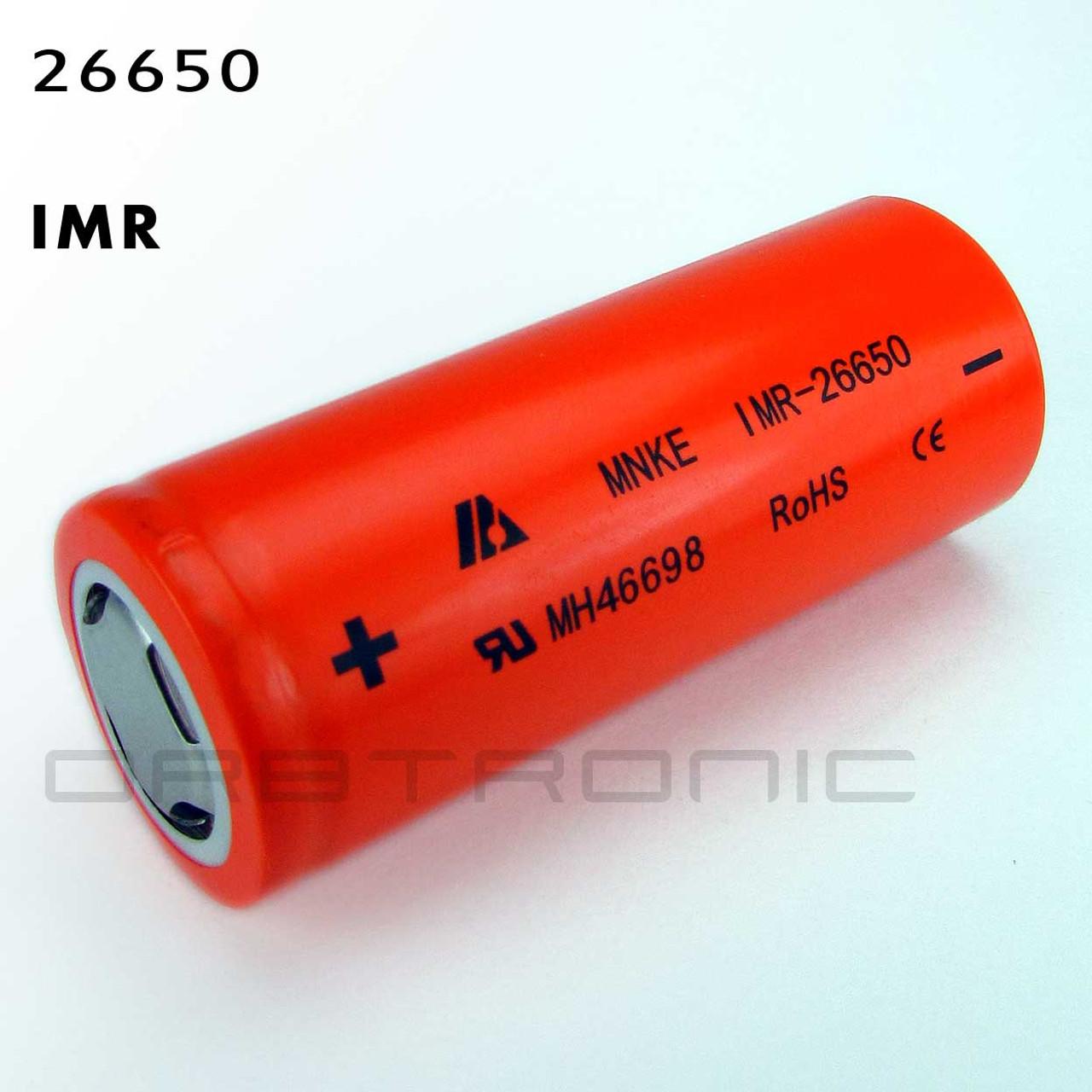 26650 Imr Mnke 3800mah Battery Cell 3 8v