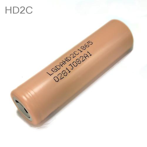 LG HD2C 18650 Battery 2100mAh Flat Top High Drain Hybrid IMR 3.7V