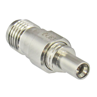 C4363 MiniSMP/Male Full Detente to SMA/Female Adapter 18 Ghz Centric RF