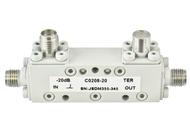 C0208-20 SMA/Female's 2-8 Ghz 20 dB Coupler Centric RF
