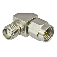 C3435B SMA 18ghz Right Angle Adapter Centric RF