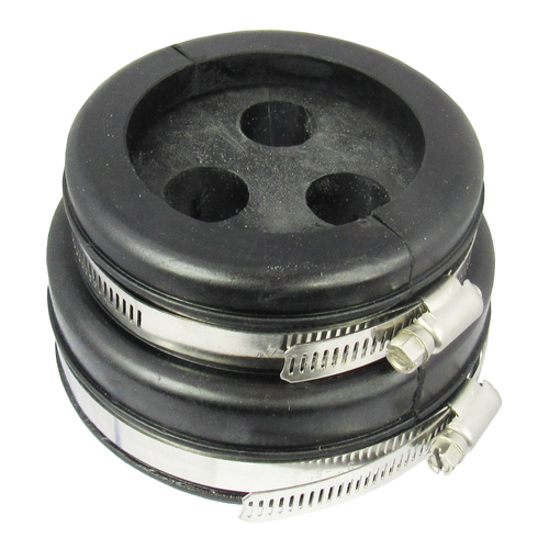 H9104358 4'' or 5'' boot and cushion for 3 hole at 5/8'' Corrugated coax Centric RF