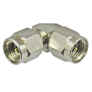 C7051 2.92/Male to 2.92/Male Right Angle 90 degree Adapter Centric RF