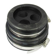 H9104378 4'' or 5'' boot and cushion for 3 hole at 7/8'' Corrugated coax Centric RF