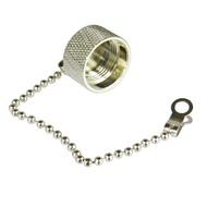 CNM2C N/Male Dust Cap with Chain Centric RF