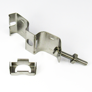 """H12058 Stainless Steel Butterfly Hanger for 5/8"""" Corrugated Cable Centric RF"""