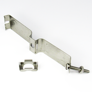 """H12158 S/Steel Hanger Butterfly 1 5/8 """" Corrugated Centric RF"""