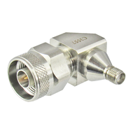 C3557 N/Male to SMA/Female 18 Ghz Right Angle Adapter Centric RF