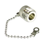 CNF2C N/Female Dust Cap with Chain Centric RF
