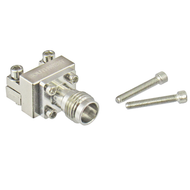 1892-04A-6 1.85/Female End Launch Connector for .005 Pin .029 Dielectric Centric RF