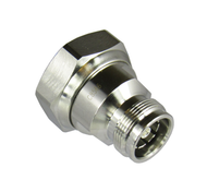 C8566 4.3/10 Female to 7/16 Male 6 Ghz Adapter Centric RF