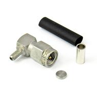 CX3172 SMA-Male Right Angle LMR100 RG316 RG174 Crimp/Solder Centric RF