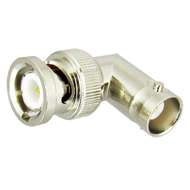 C2154 BNC Right Angle Adapter Male to Female 4Ghz VSWR 1.3 50 Ohm Centric RF