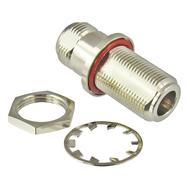 C5615 N/Female to N/Female Bulkhead Hermetic Adapter Centric RF