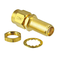 C3167 SMA/Male to SMA/Female 18 Ghz Adapter Centric RF