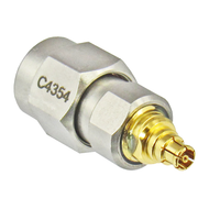 C4354 MiniSMP/Female to SMA/Male Adapter Centric RF