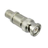 CFT50B Coaxial BNC Termination Feedthru. Male/Female. 50 Ohms. 1Ghz. VSWR 1.3 max. 2watt Centric RF