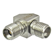 C7015 2.92mm Right Angle Female to Female Adapter 40GHz Centric RF