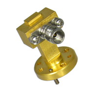 CWR15185 WR15 to 1.85/Female Waveguide to Coaxial Adapter Centric RF