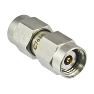 C7616 2.4mm Male to SMA Male Adapter VSWR 1.2 27Ghz Centric RF