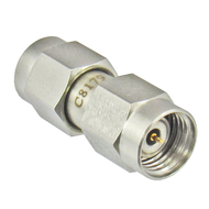 C8179 1.85mm Male to SMA Male Adapter 27ghz VSWR 1.15 Centric RF
