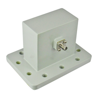CWR229S WR229 to SMA Waveguide to Coax Adapter 3.3-4.9 Ghz VSWR 1.25 Centric RF