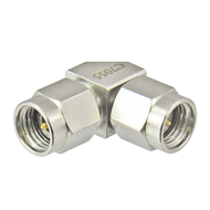 C7055 2.92mm Right Angle Adapter Male to Male VSWR 1.15 40Ghz Centric RF