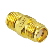 C3370 SMA Female to Female Adapter 27ghz VSWR 1.15 Centric RF