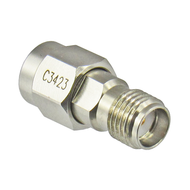C3423 SMA Male to Female Adapter 27ghz VSWR 1.15 Centric RF