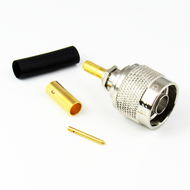 CX5622 N Male Crimp Connector RG58 Centric RF