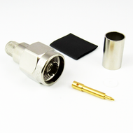 CX4008 N Male Connector for LMR400 Cable Brass Centric RF