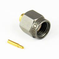 CX0862 SMA Male RG405 (.086) S Steel Nut Brass Body 18 Ghz Connector Centric RF