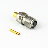 CX0867 SMA Female S Steel Connector 086 Cable Centric RF