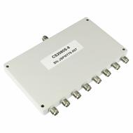 CS2080S-8 SMA Power Divider 8-way 2-8Ghz S Steel SMA Centric RF