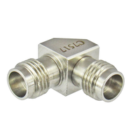 C7517 2.4mm Female to 2.4mm Female Right Angle Adapter Centric RF