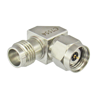 C7554 2.4mm Male to 2.4mm Female Right Angle Adapter Centric RF