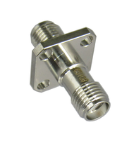 C3108 SMA/Female to SMA/Female Flange Adapter Centric RF