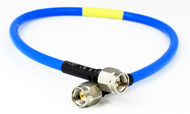 C581-141-04 SMA/Male to SMA/Male .141 4 inch Flexible Cable Centric RF