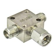 CS27-2M SMA/Female/Male/Female 2 Way Resistive Power Divider Centric RF