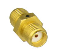 C3367 SMA/Female to SMA/Female Coaxial Adapter with Hex Gold Plated Centric RF